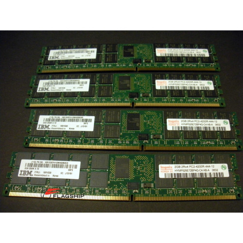IBM 7894-91xx 8GB (4x 2GB) Main Storage Memory Kit 16R1530