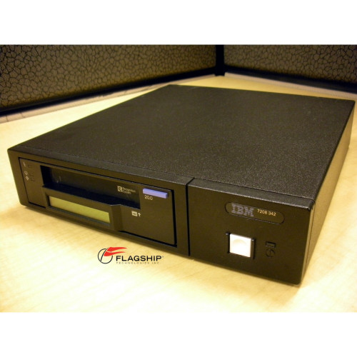 IBM 7208-342 20/40GB 8mm Mammoth External SCSI Tape Drive IT Hardware via Flagship Tech