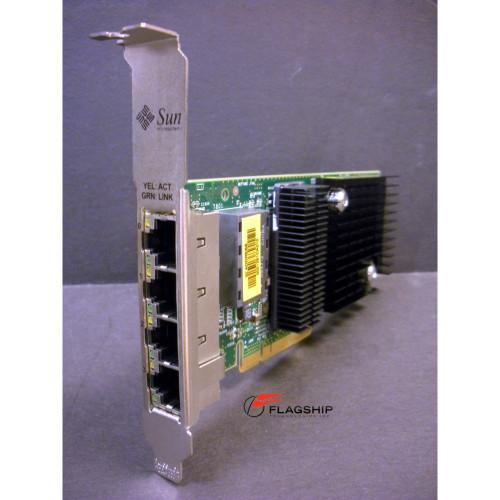 Sun X4447A-Z 501-7606 511-1422 Quad Port Gigabit Ethernet x8 PCI-E Card via Flagship Tech