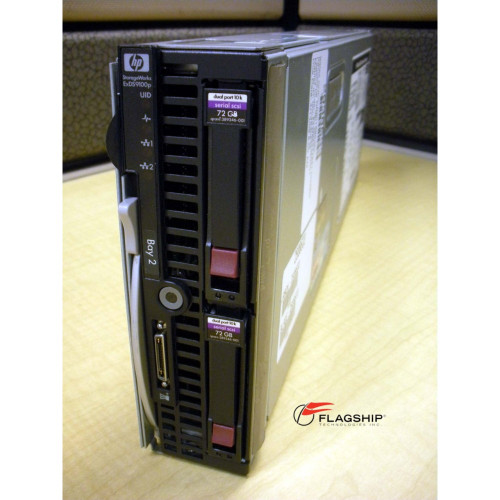 HP AN583A SB460c E5430 2.66GHz QC (2P), 8GB, 2x 72GB San Gateway Storage Server