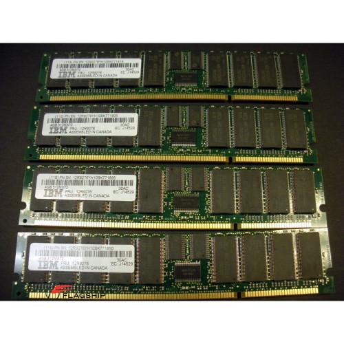 IBM 4450-701X 16GB (4x 4GB) Memory Kit 12R9276 16R0711 30AC