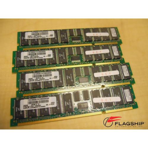 IBM 4449-701X 8GB (4x 2GB) Memory Kit 12R9257 00P5773 30D5