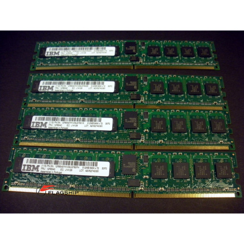 IBM 7892-9406 2GB (4x 512MB) Main Storage Memory Kit 12R8540 16R1521