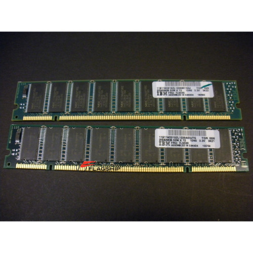 IBM 4119 512MB (2x 256MB) Memory Kit (07L9030) 4134 4412 4413 4414