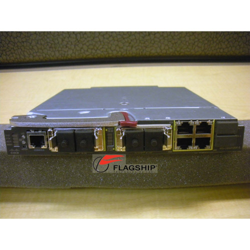 HP 451357-001 451439-B21 Cisco 1/10GbE 3120X Switch for C-Class Blade
