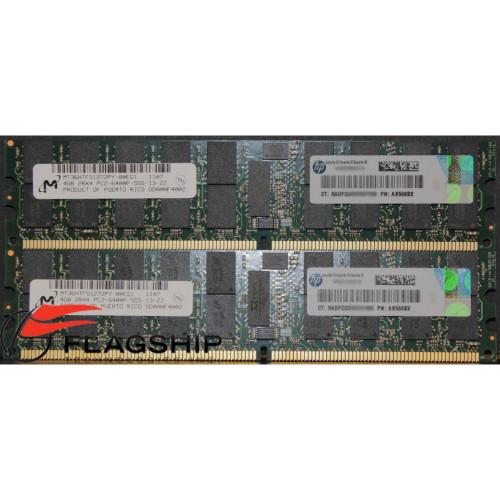 HP AD345A 8GB DDR2 PC2-5300 Memory Kit (2x4GB) BL860c BL870c