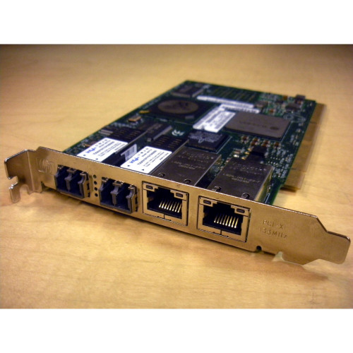 HP AB465A PCI-X 2 Port 2Gb FC & 2 Port 1000BaseT Combo Card via Flagship Tech