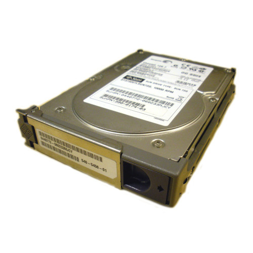 Sun 540-5456 X5264A 73GB 10K SCSI Hard Drive w/ Spud Bracket