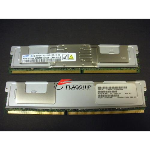 Sun SESX2C1Z / X4204A 8GB (2x 4GB) Memory Kit 501-7954