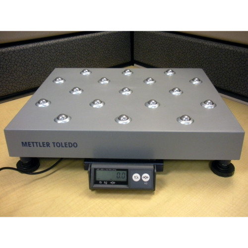 Mettler Toledo PS90 300lb / 150kg Ball Top Shipping Scale
