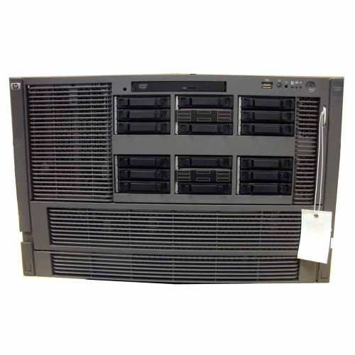 HP AD133A #140 rx6600 Server 3x 1.4GHz/12MB DC CPU 24GB 2x 146GB DVD Rack Kit