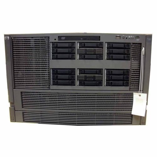 HP AD134A #140 rx6600 Server 4x 1.4GHz/12MB DC CPU 32GB 2x 146GB DVD Rack Kit