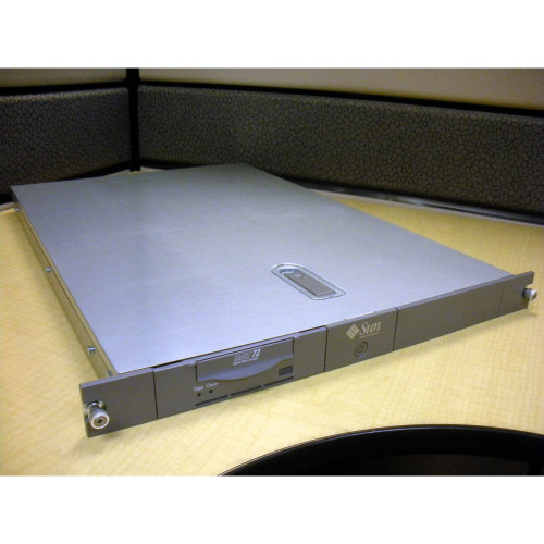 Sun 380-1325 Rackmount Tray with 380-1324 4mm DAT72 SCSI LVD Tape Drive via Flagship Tech