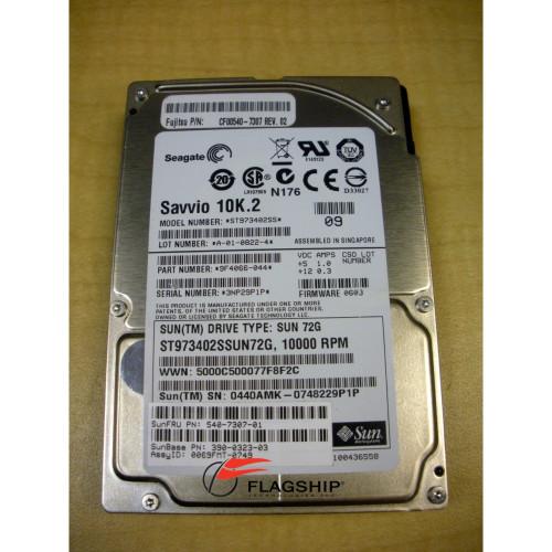 """Sun 390-0323 73GB 10K 2.5"""" SAS Hard Drive"""
