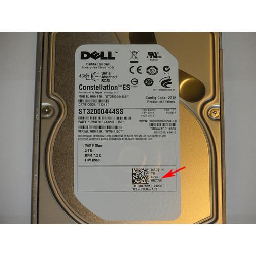 Dell R755K Seagate ST32000444SS 2TB 7 2K Nearline SAS 3 5