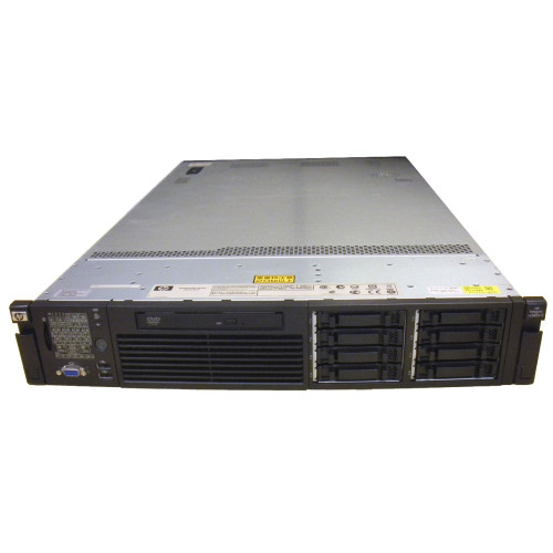 HP AH395A rx2800 i2 Server QC 1.33GHz 9320 24GB 2x 146GB RPS DVD Rack Kit via Flagship Tech