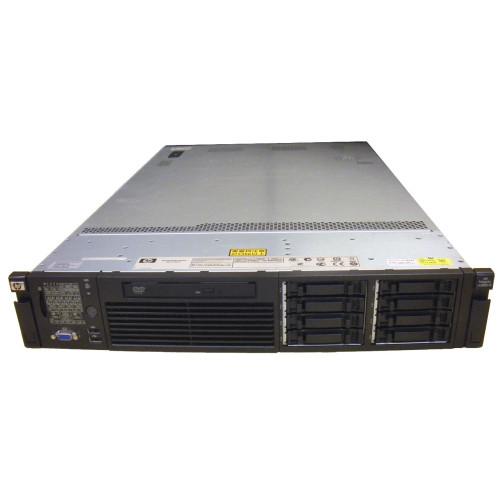 HP AH395A rx2800 i2 Server QC 1.33GHz 9320 24GB 2x 146GB RPS DVD Rack Kit via Flagship Tech