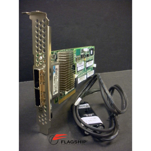 HP 631674-B21 633543-001 Smart Array P421/2GB FBWC 6Gb 2-port Ext SAS Controller