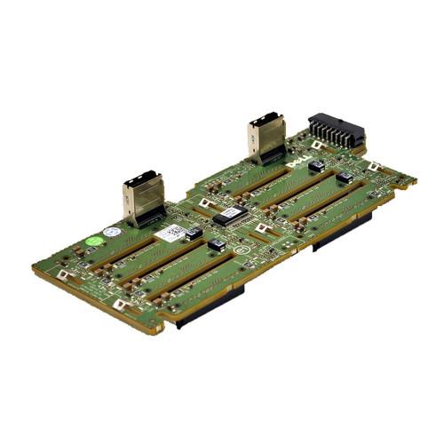 "Dell PowerEdge R710 1x8 SAS/SATA Hard Drive Backplane 2.5"" MX827"