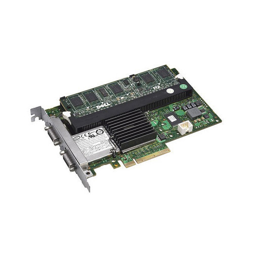 Dell PERC 6/E SAS PCI-E Raid Controller for PowerVault MD1000 Arrays F989F