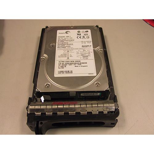 146GB 10K U320 SCSI 80Pin Hard Drive Dell F3005 Seagate ST3146807LC