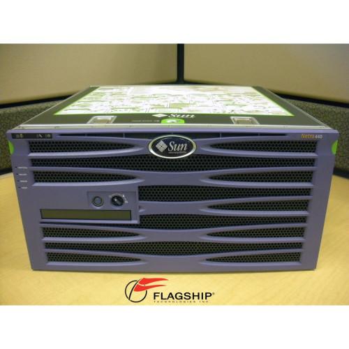 Sun N42-XH42CC24GYBD Netra 440 4x 1.6GHz, 16GB, 4x 146GB 15K with Rack Kit