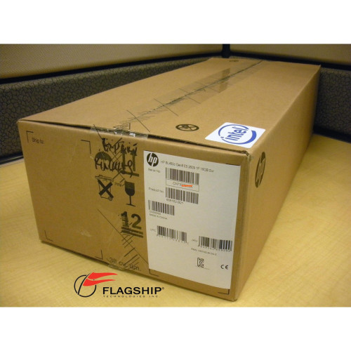 HP 666162-B21 BL460c Gen8 E5-2609 2.4GHz/10MB 4-Core 1P 16GB Server NIB