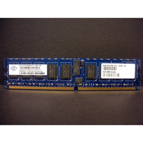 Sun 371-4143 2GB (1x 2GB) Memory DIMM for X2200 M2 via Flagship Tech
