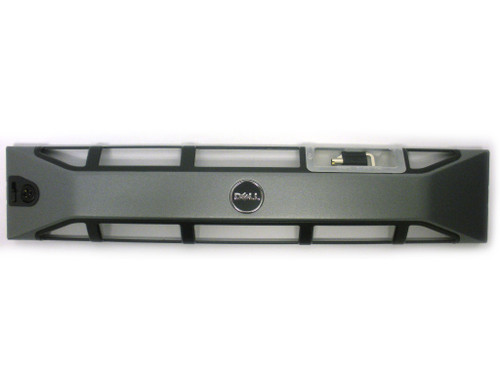 ONE PLATE AND ONE KEY DELL POWEREDGE 2950 FRONT COVER BEZEL FACEPLATE WITH KEY