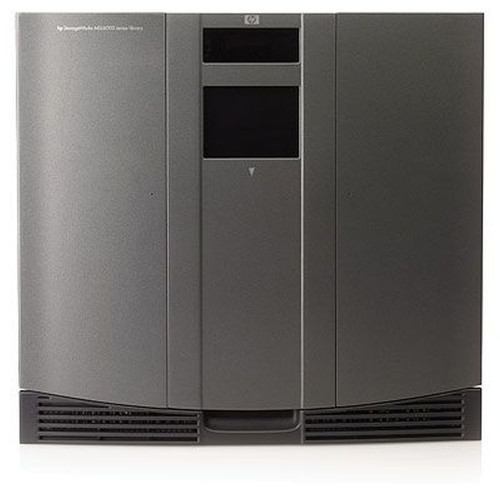 AD611B HP MSL6060 w/2xU960 LTO-3 FC Tape Library 1