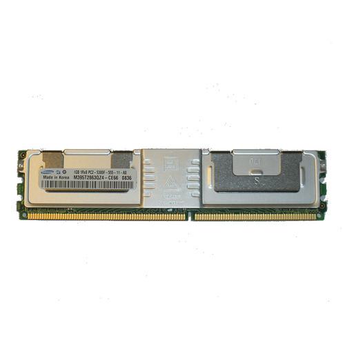 1GB PC2-5300F 667MHz 1RX8 DDR2 ECC Memory RAM DIMM FU830
