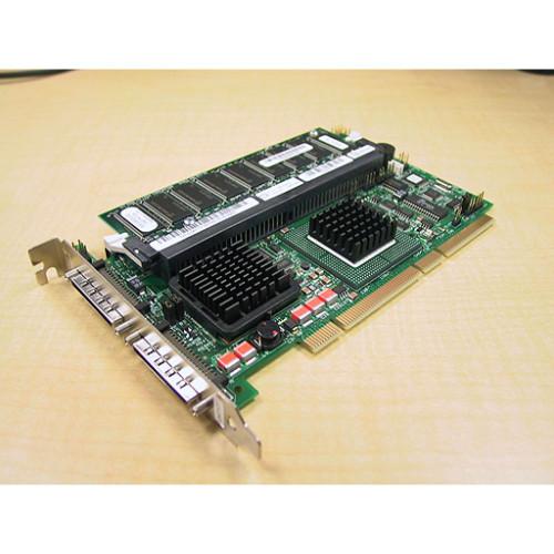 DELL Perc 4//DC 128MB U320 SCSI RAID PCI-X Controller Card w//Battery KJ926 Renewed
