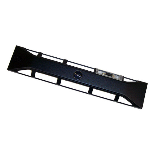 Dell PowerEdge R510 R515 R520 R720 R720xd R820 Black Front Bezel Faceplate & Key T590P T424M