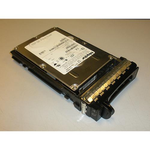 73GB 10K U320 SCSI 80Pin Hard Drive & Tray XJ657 Maxtor Atlas for Dell PowerEdge