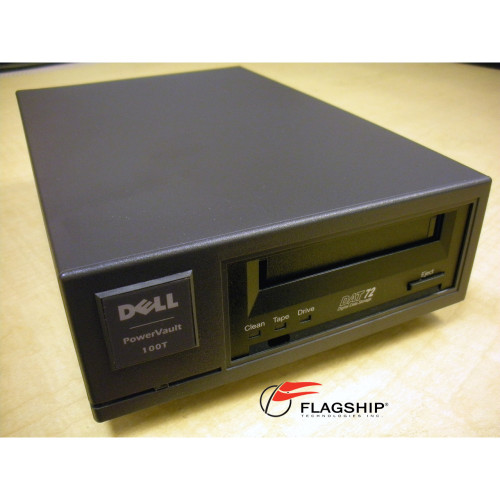 Dell PowerVault 100T DAT72 36/72GB External SCSI Tape Drive KG988 CD72LWE