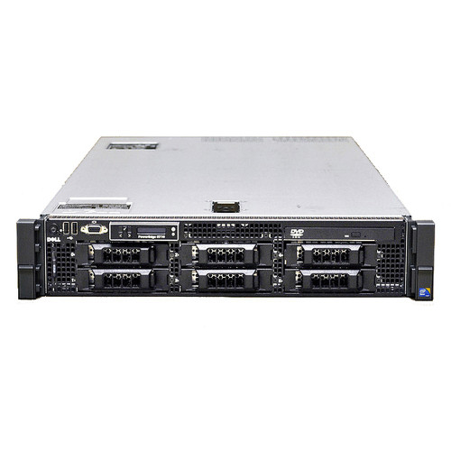 Dell PowerEdge R710 Server 2x 2.4GHz Quad-Core E5620 32GB 6x 300GB