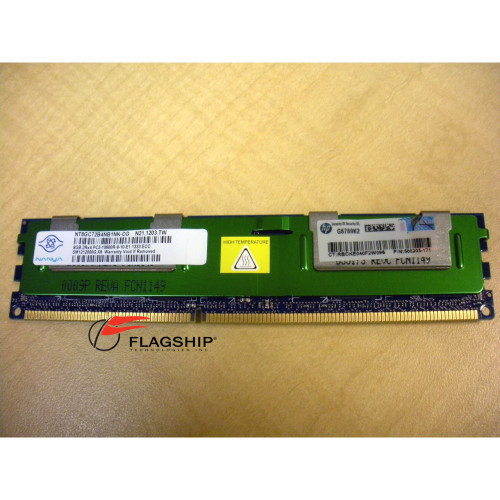 HP 593913-B21 595097-001 500205-171 8GB (1x 8GB) Memory Kit 2Rx4 DDR3 PC3-10600R