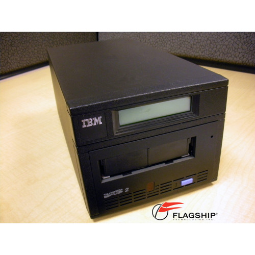 IBM 3580-L23 200/400GB Ultrium LTO-2 External SCSI LVD Tape Drive
