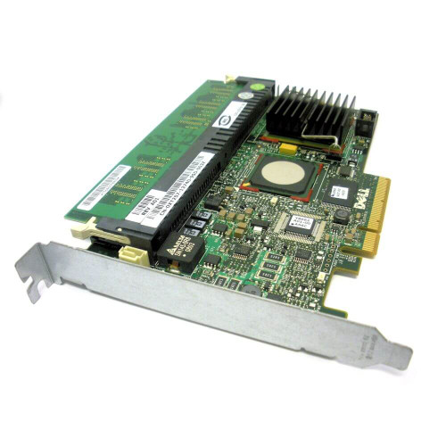 Dell MX961 PowerEdge PERC 5 i SAS RAID Controller Adapter Card PCI-E