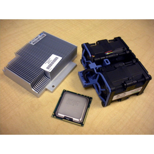 HP 588068-B21 594885-001 Intel Xeon E5640 QC 2.66GHz/12MB Processor Kit for DL360 G7 w/ Fan via Flagship Tech