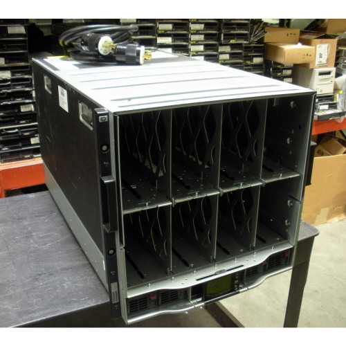 HP 507017-B21 BLc7000 Enclosure 3 PH, 6x P/S, 10x Fan, OA (No ICE LTU's)