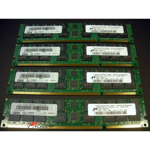 IBM 4454-9406 Memory Kit 8GB (4x 2GB) 30AA