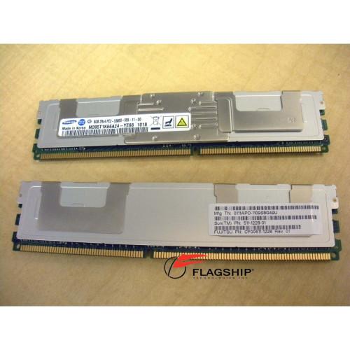 Sun SESX2D3Z 16GB (2x 8GB) Memory Kit (511-1228) for T5140 T5240 T5440