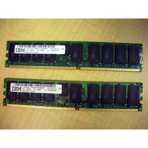 IBM 4477-9406 8GB (2x 4GB) Main Storage Memory Kit 12R9616 via Flagship Tech
