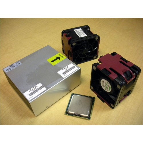 HP 492237-B21 490072-001 E5530 QC 2.4GHz/8MB Processor Kit for DL380 G6 w/ Fans via Flagship Tech