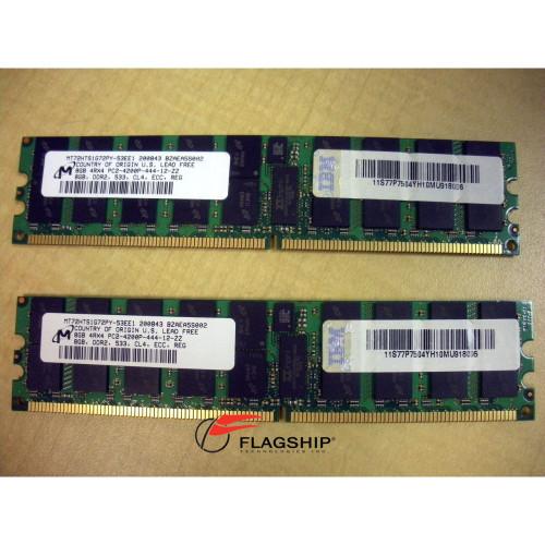 IBM 4524-82XX 16GB (2x 8GB) Memory Kit PC2-4200P (77P7504)