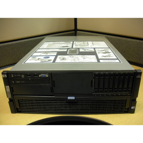 HP 487366-001 DL580 G5 E7420 2.13GHz QC (2P) 4GB US Server via Flagship Tech