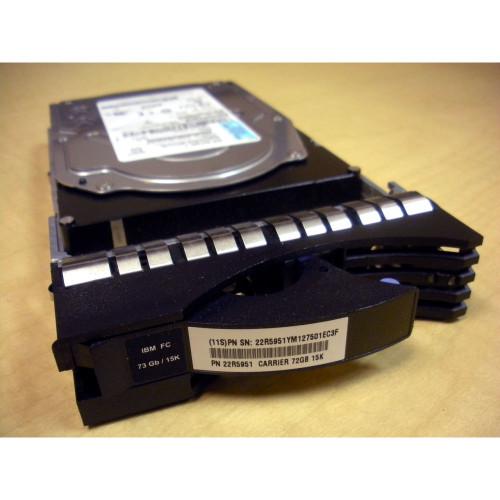 IBM 22R5951 23R0828 73GB 15K FC Hard Drive DS8000 Disk Drive Module DDM via Flagship Tech