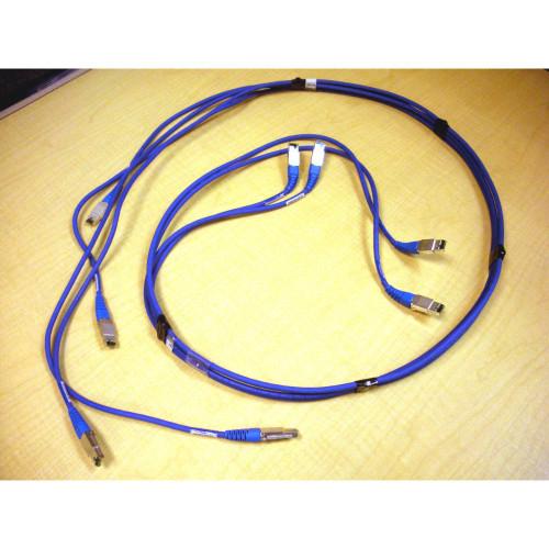 IBM 23R0282 Fibre Channel Cable (Set of 4 Cables) DS8000 via Flagship Tech