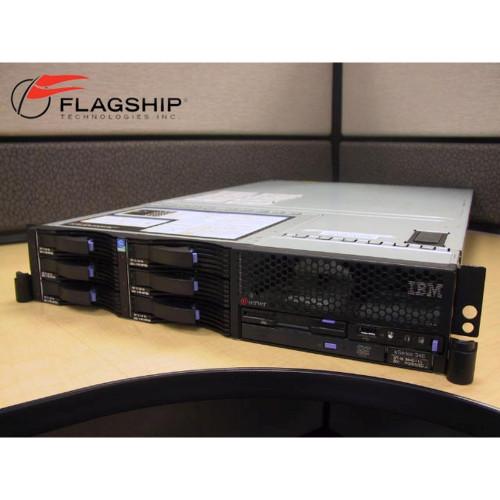 IBM 8840-41U Xeon 3.6GHz, 8GB, 6x 73GB, DVD, Rack Kit xSeries 346
